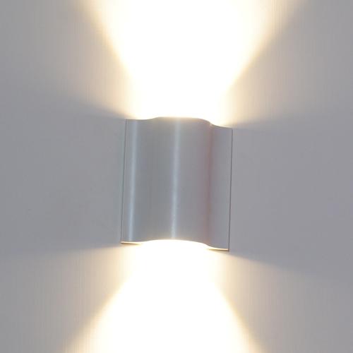 Applique da parete a led 10w luce calda faretto lampada a muro ...