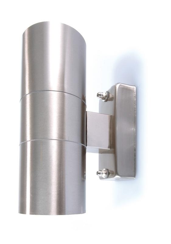 crossled: Faretto applique moderno lampada parete GU10 per esterni ...