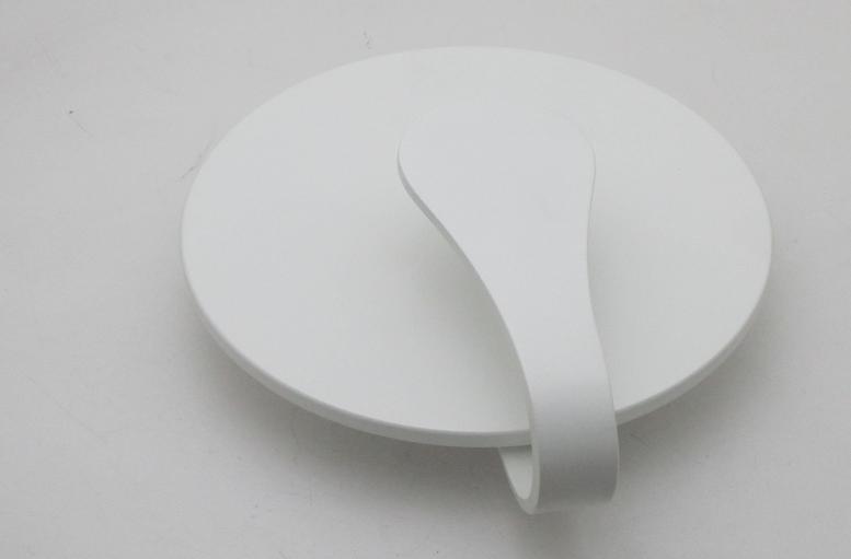 Applique design moderno cob led w luce bianco freddo
