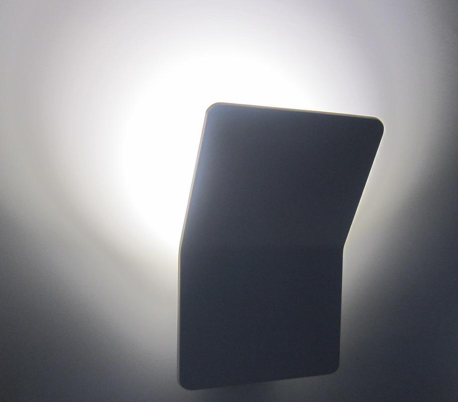 crossled: Applique a led design moderno 8w luce bianco freddo ...