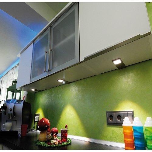 KIT 6pz lampada led sensore di movimento 12V armadio cucina mensola ...