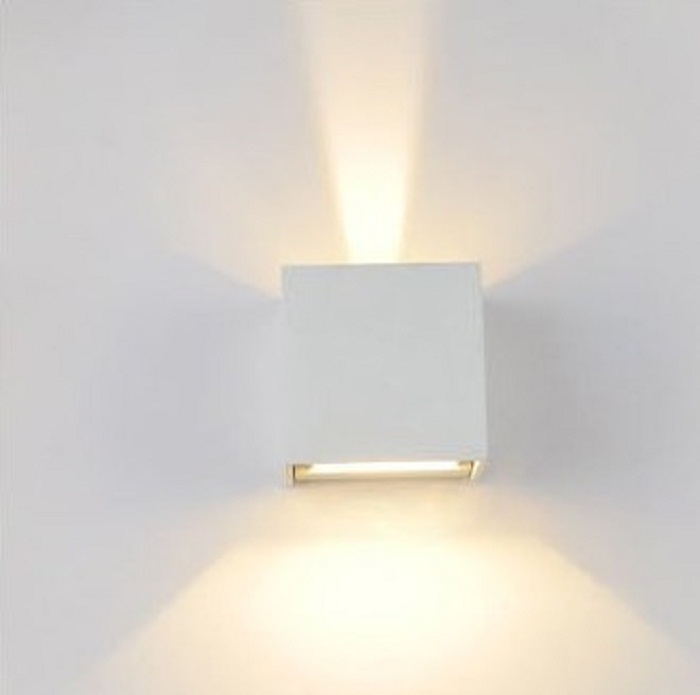crossled: Lampada da parete regolabile alluminio x esterno/interno ...