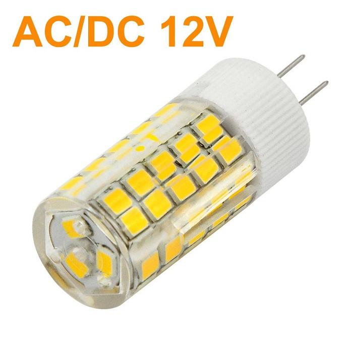 Lampe LED Leuchtmittel G4 6w 63 SMD warmes Licht 500lm 12v AC/DC ...