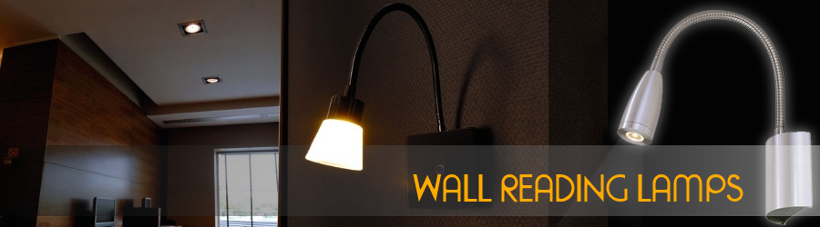 Wall reading lamps