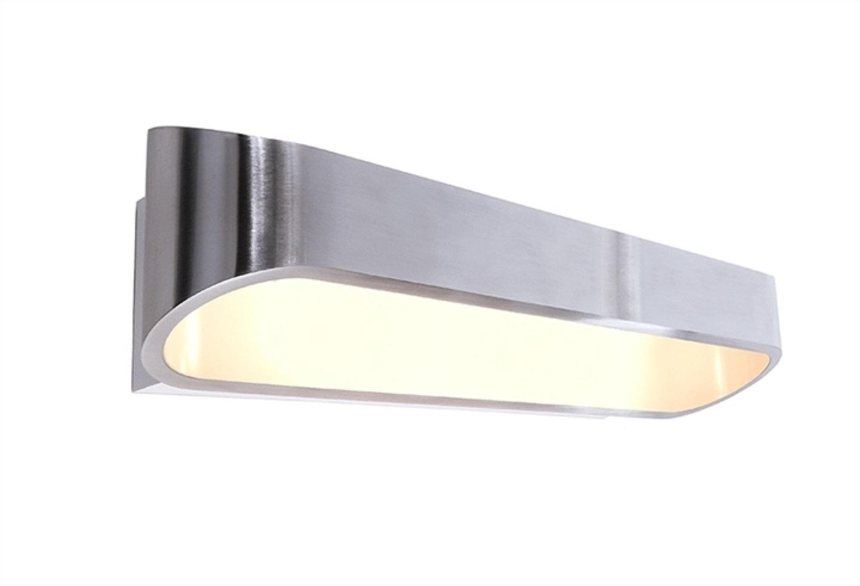 Crossled: applique led lampada parete 18w 3000k 230v luce corridoio