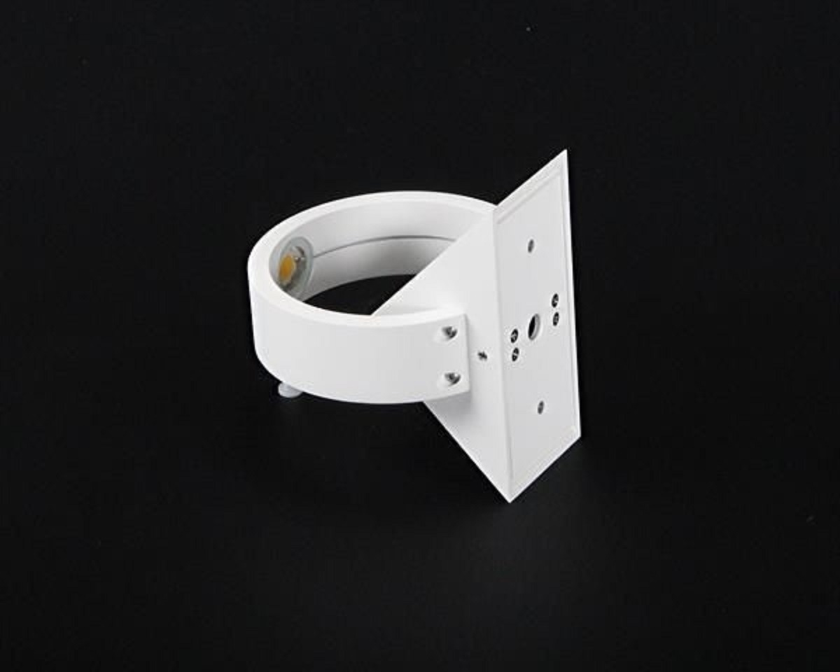 Crossled: applique moderno lampada parete 6w doppia luce led calda ...