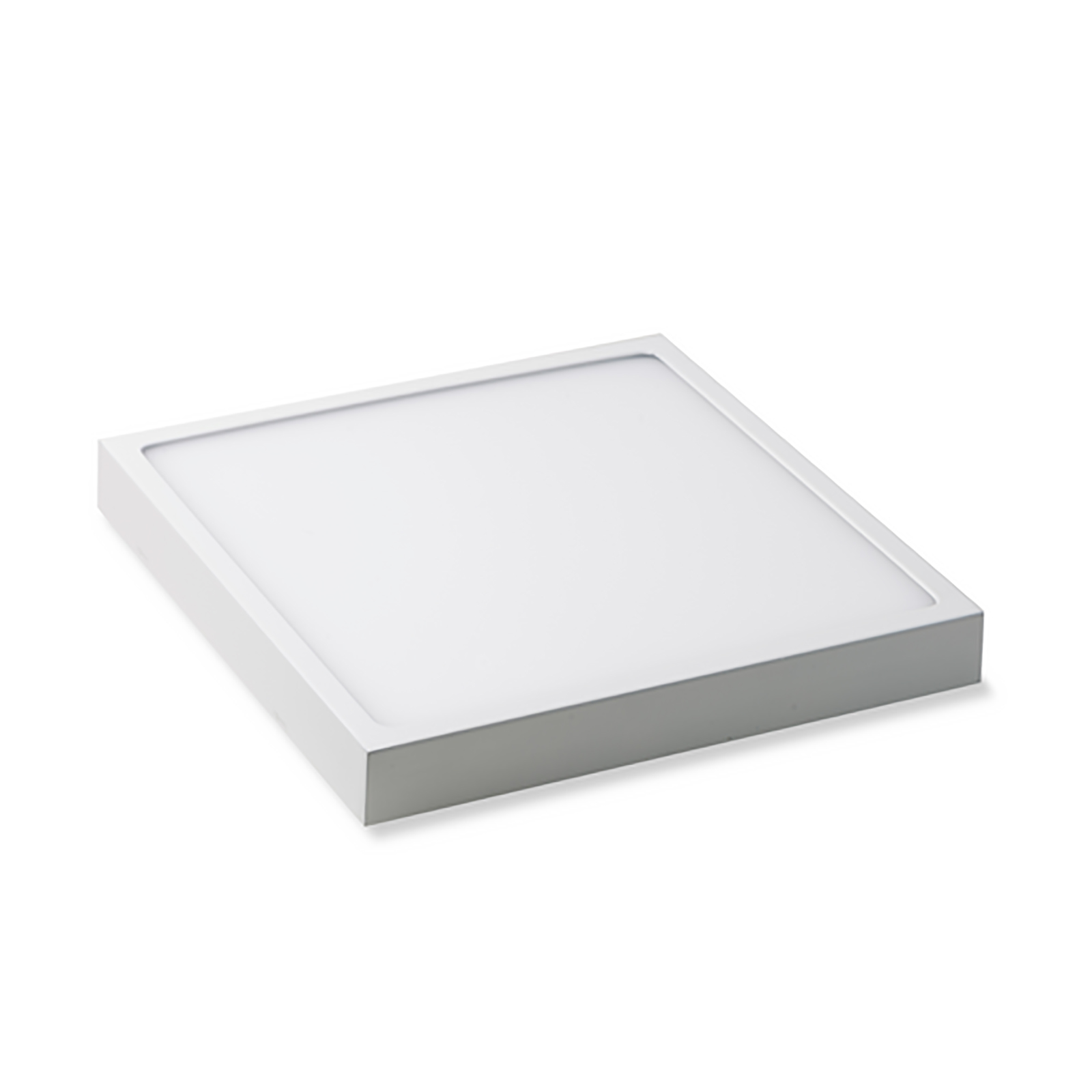 Crossled: plafoniera led 18w quadrata pannello superficie parete ...