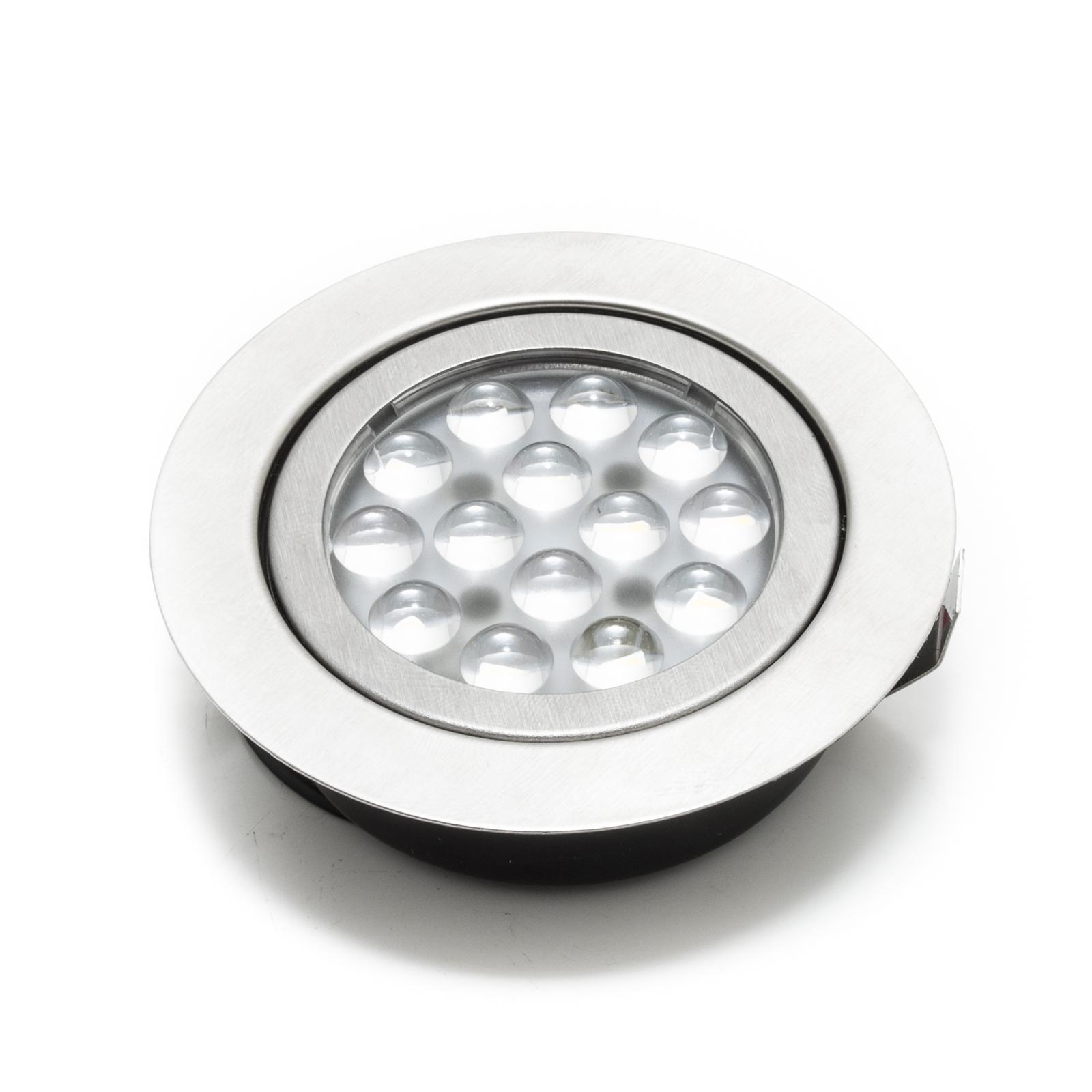 Faretto led incasso 3w slim luce fredda cappa cucina mensole 220v ...