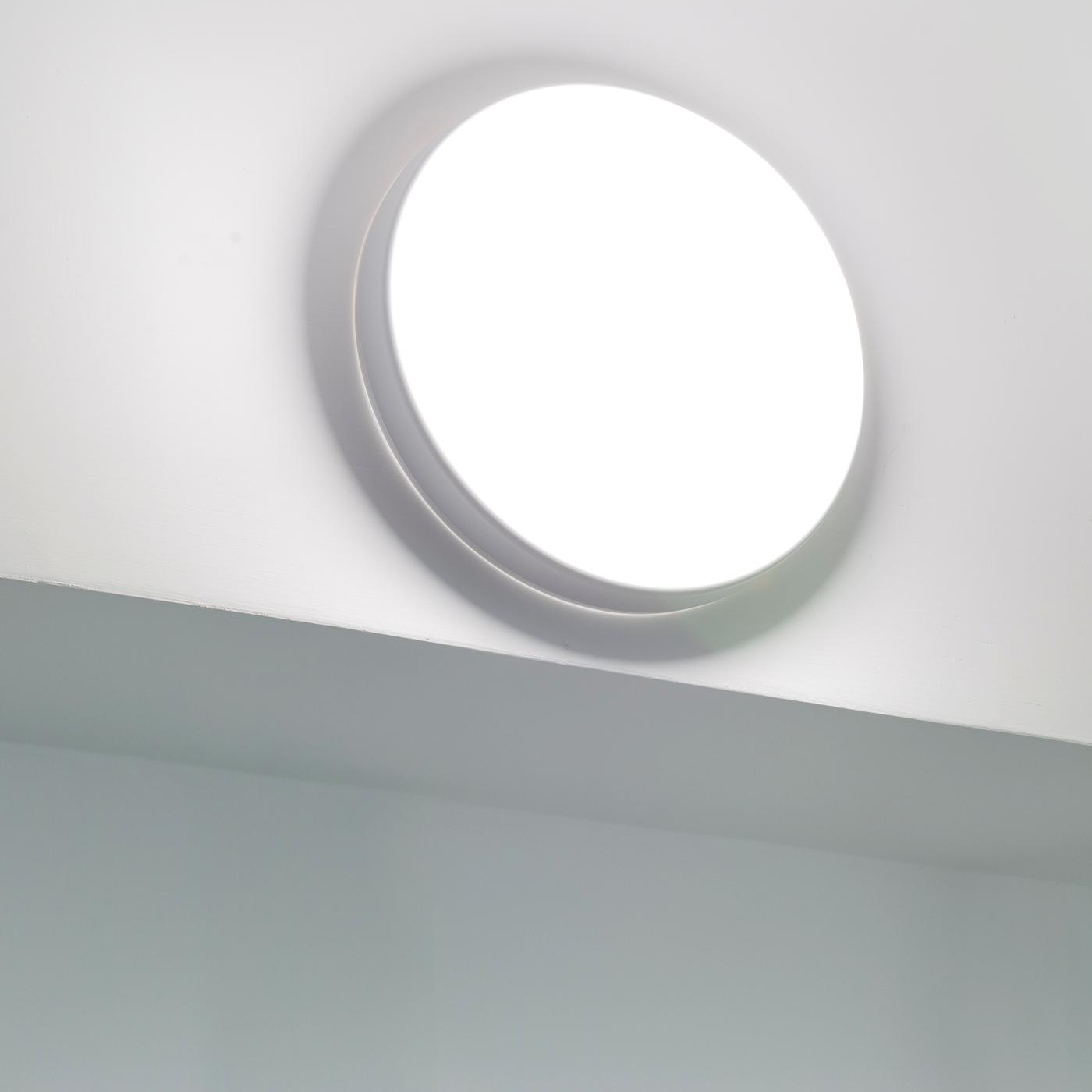 crossled: plafoniera led 18w ip54 scale terrazzo bagno soffitto ... - Luci Soffitto Bagno