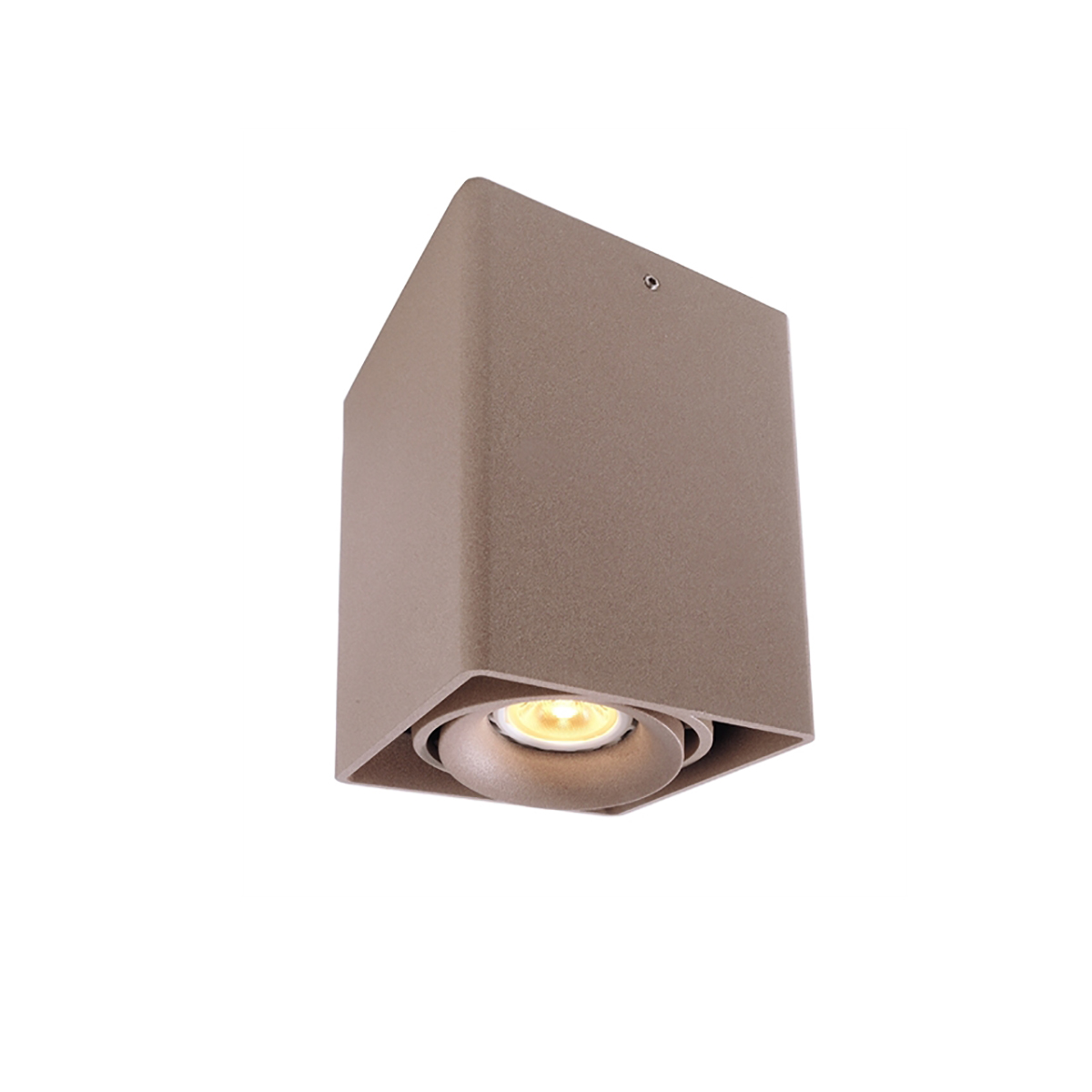 Applique a fissaggio soffitto spot 38 gradi 5w led gu10 230v faretto orientabile