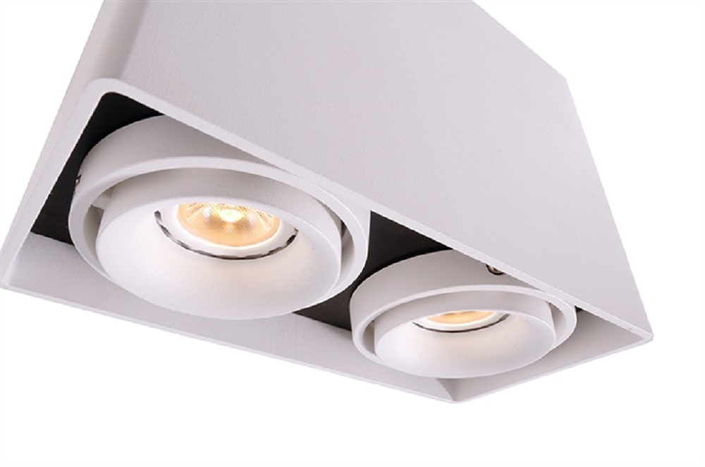 Faretti Led G10.Spotlight Lamp Ceiling Dual Direct Light Adjustable Led 14w 230v Gu10