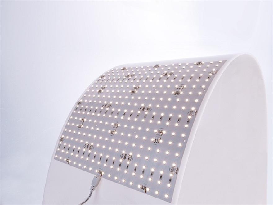 Crossled led panel flex panel led flessbile v platte