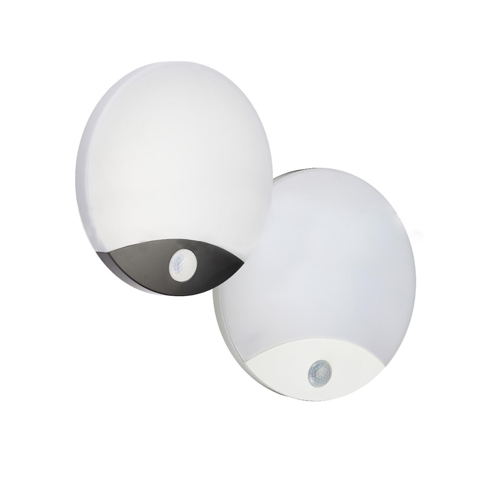 LED muro esterno Luce Lampada da soffitto con rilevatore di movimento LAMPADA CASA GARAGE MURO