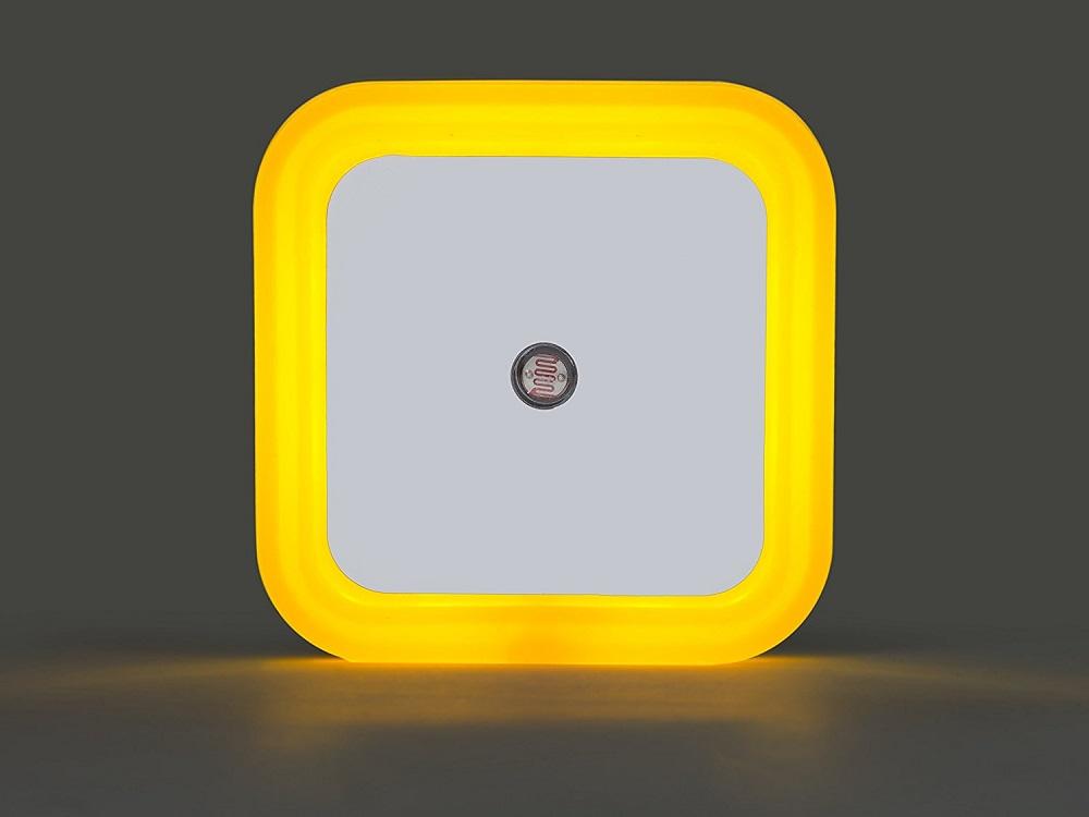 Plafoniera Con Sensore Crepuscolare : Luce notturna led con sensore crepuscolare di notte per