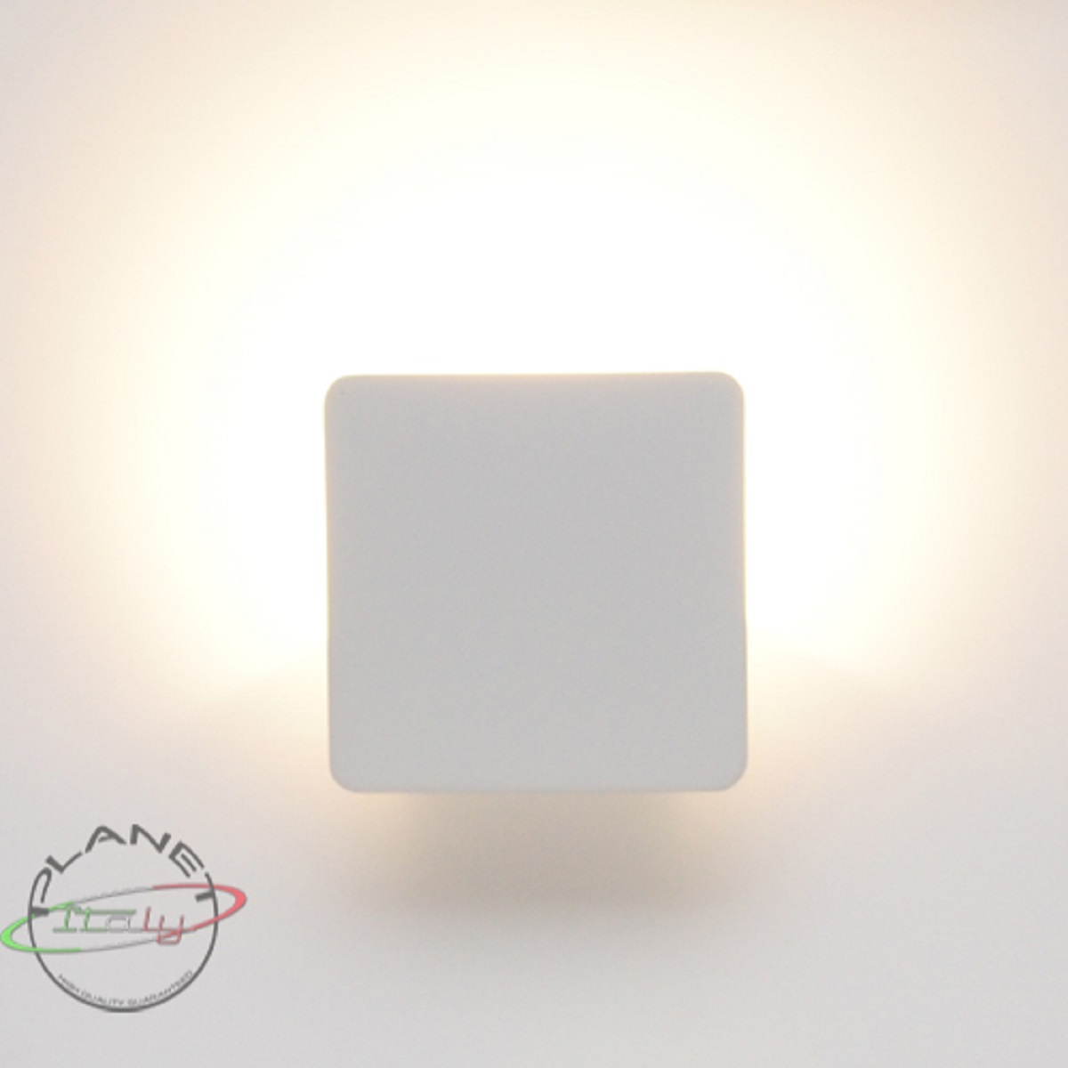 Applique lampada da parete led luce calda 10w per interni 220v salone camera