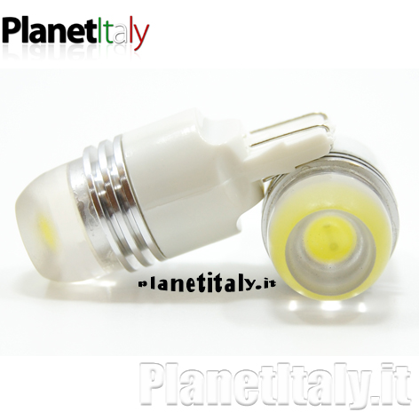 2 Lampadine led canbus t10 w5w luci posizione
