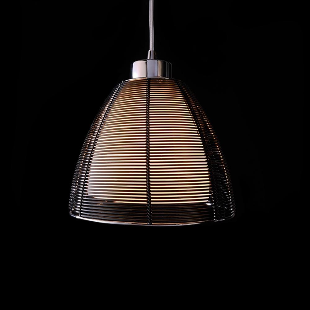 Lampadario sospensione moderno pendente in metallo serie filo E27 ...