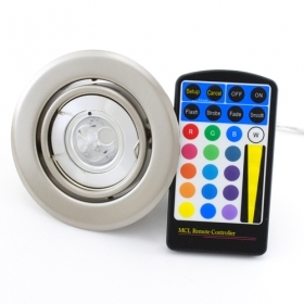 Led downlight led recessed led RGB color therapy lamp gu10 5w high power light color change