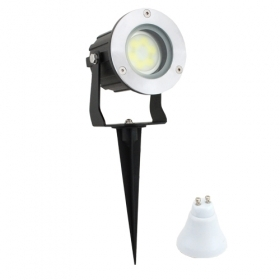 Spot light with stake garden led la