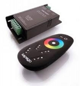Controller RF controller for led RGB+W 15A 12-24V 4 channels, 12 programs, games light + dimmer