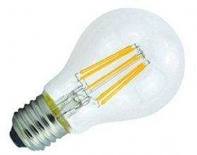Lamp filament E27 led 6W warm light 2700K LED FILAMENT BULB LIGHT wire led 230v