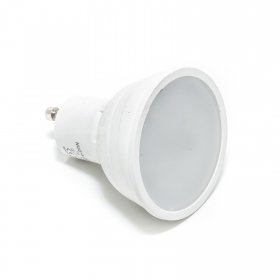 Lamp led spotlight gu10 7w 160 degrees diffused light 230v w watt