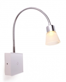 Reading lamp, LED with flexible arm