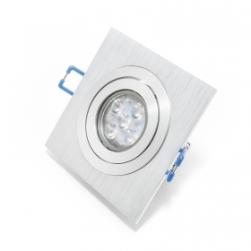 Foco ajustable led 5w gu10 de doble
