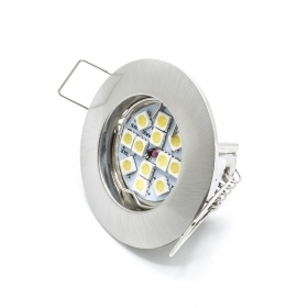 Led spot light recessed 3w G4 MR11 silver light lamp 160 degrees hole 4cm