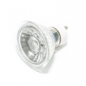 Spotlight lamp led spot gu10, 5w, 30 degree light 230v bulb w watt