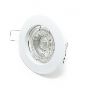 Spotlight round recessed hole 60mm