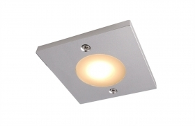 Led spotlight surface mounted-for installation in furniture shelves wood 3w 12v 3000k