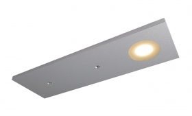 LED spotlight support for fixing furniture shelves under the hanging wood 3W 12V
