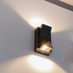 Wall lamp double light led wall sco
