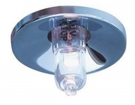 Support round recessed port spotlight for led bulb G4 12V hole 26mm