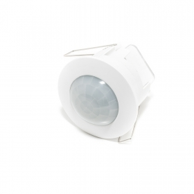 Motion sensor flush-mounted in