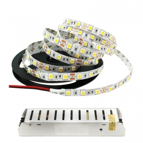 Kit led strip 5 meters with th
