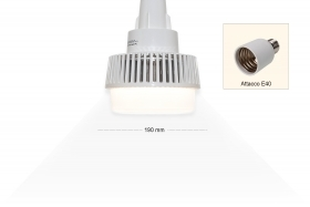 Bulb lamp led E40 80W industrial for chapel chandelier 7600lm