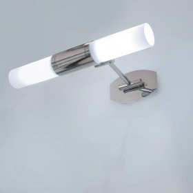 Sconce lamp wall mirror bathroom light led white 10w e14 230v adjustable