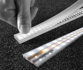 Rigid bar aluminium 1m 100 LED