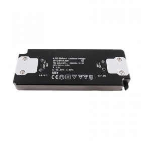 Power supply Transformer LED driver 12W 24V SLIM Input 220-240V Out 24V 0.5 A