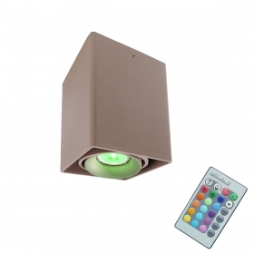 Ceiling lamp LED RGB 3W adjustable chromotherapy projector light color