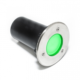 Led spotlight path light round