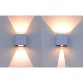 Wall lamp LED adjustable light