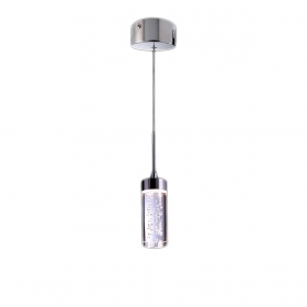 Pendant lamp modern indoor led glass 5w leaning snack bar LED