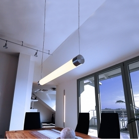 Ceiling light led suspension l