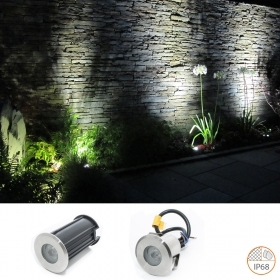 Path light led floor 2w IP68 waterproof recessed floor ground 12v