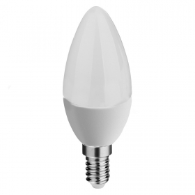 Led bulb 6w candle e14 bulb low con