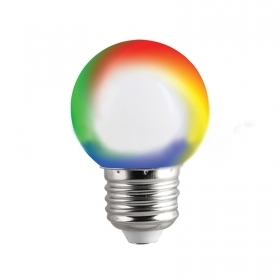 Led RGB bulb mini globe E27 0.5 w decorative lamp g45 light signaling