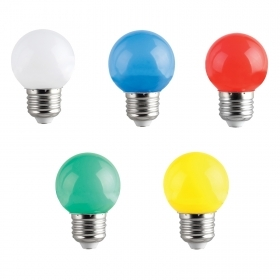 Bulb led E27 mini globe 1w lamp decorative light signaling g45